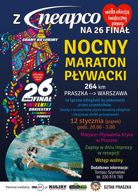 Nocny maraton pływacki